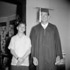 FRANK SOLIE, AND BILL SOLIE WITH H.S. GRANDUATION GOWN