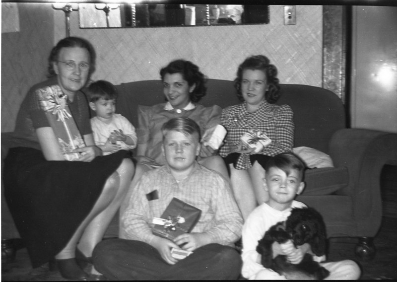 LAURA SOLIE SWAN, FRANK SOLIE, ANGELINE SOLIE, LUELLA GILBERTSON, CARLYLE GILBERTSON, BILL SOLIE