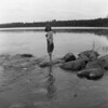 LAURA JEAN SOLIE @ ITASKA STATE PARK, MN., HEADWATERS OF THE MISSISSIPPI RIVER