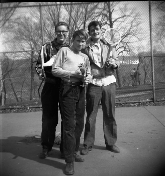 Bill Solie's friends: George McKitterick, Bud Ramsey, Jerry McNurlin