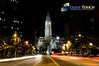 October Picture of the Month<br /> Broad Street <br /> Philadelphia, PA<br /> 11 pm on a crystal clear night.<br /> <br /> Click on the picture for a larger view