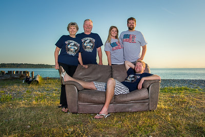 Tom & Janet Wright Family, 2013, Print Photo