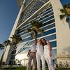 The Reize family at Burj al Arab, Dubai, UAE.  29 May, 2013.     Photo by: Stephen Hindley ©