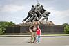 Friday, August 5, 2011. Washington, D. C. The Iwo Jima Memorial.