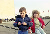 Holly and Andy January, 1990