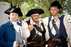 The authentic period costumes take you back over 200 years in the past.