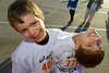 Ira (L) and his buddy Ty from Scouts and baseball. Spring Hill Elementary 2009 Turkey Trot 5K Race. Ira, took second place in his age group with a time of 31:24 after coming off being sick for 10 days.