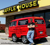 Me at my favorite restaurant, The Waffle House. Photo taken by my good friend Derick Jackson.