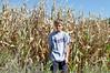 Ira, standing in a cornfield in Cambridge, Iowa.
