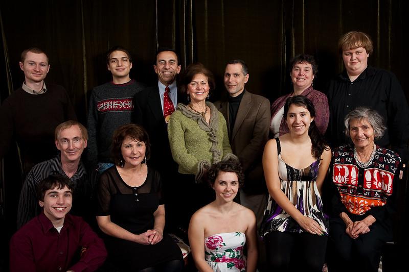 Family on Xmas 2009
