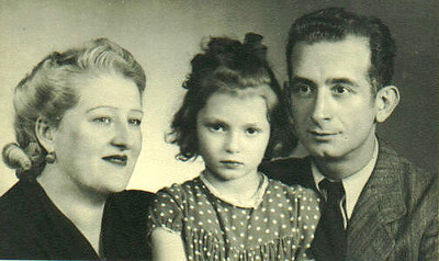Radka with Mama (Erna Wagner Ovtcharoff) and Papa (Simeon Ovtcharoff).  Only after my mom, Radka,  passed away did we learn the common spelling of the family name - Ovcharov.