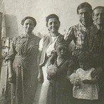 Simeon had family in Targovishte, Bulgaria. It was said that his grandfather sired 36 children by two wives. This is Radka with great aunts and a cousin.