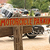 Motorcycles get their own parking area right in the heart of town, a fact taken advantage of by the motorcycling community.  Luckenbach is a destination spot for riders from far and near.  Most weekends there is an abundance of bikes parked in the lot.