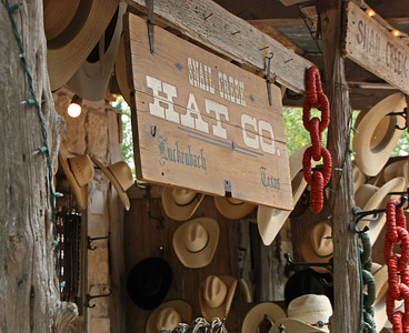 If you forgot your cowboy hat or just need a new one, the Snail Creek Hat Co. has a wide variety of choices for you to select from.