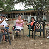 The Driftwood Vineyards winery is located off RR12 between Wimberley and Dripping Springs.  With a fine view of the hill country Connie, Jose, Rebecca, Irma, Ralph, and I enjoyed a wonderful bottle of wine on a hot Sunday afternoon.