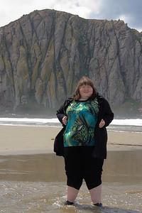 Alana at Morro Rock