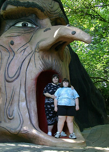 Alana and Trish at Enchanted Forest