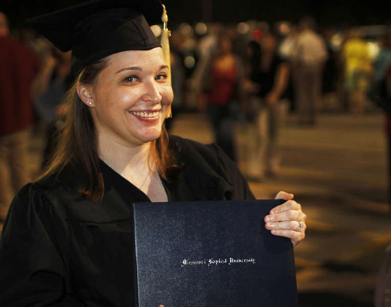 Amy's graduation on May 1, 2012.