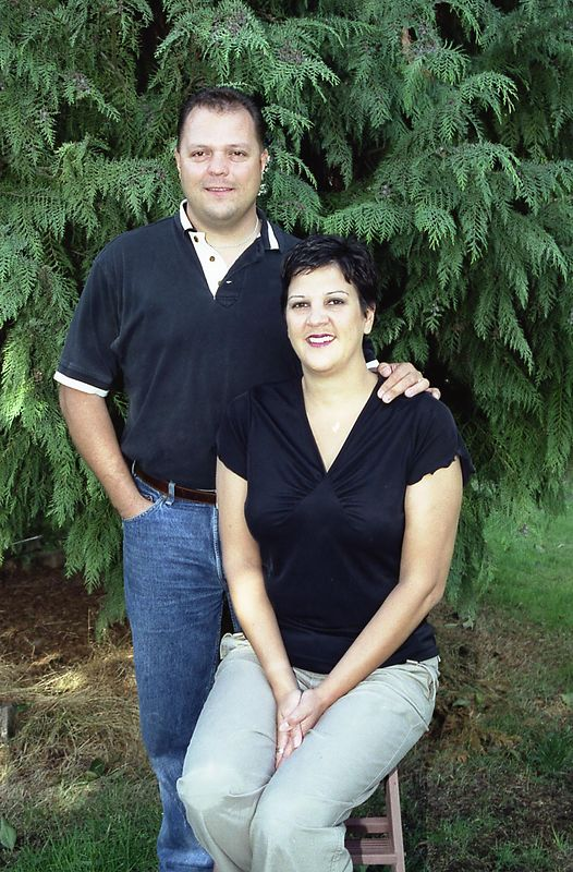 Nick (age 34) and Angela (age 35)