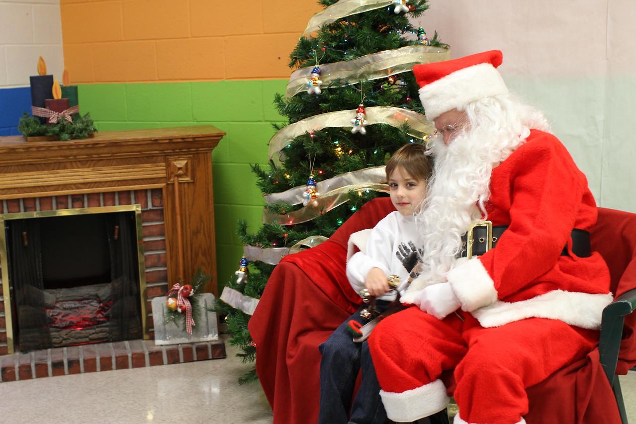 Link and Santa