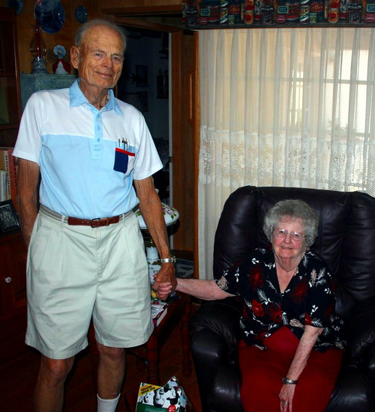Mom and Dad, June 26, 2010.