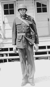 This is the uniform you were wearing in your picture Gary. Dad was based in Wenover Field in utah near the great salt Lake.