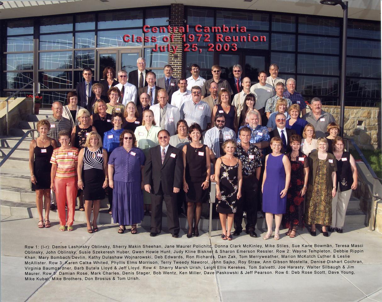 CCHS - Class of 72 Reunion