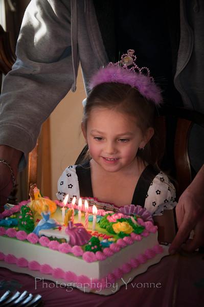 Princess cake for our princess!