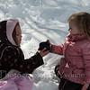 DeAnne & Devyn share hot chocolate!