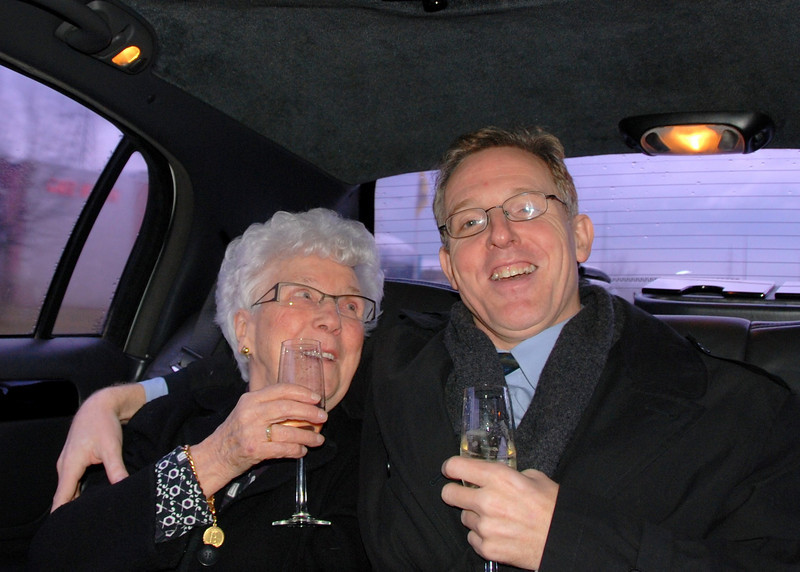 Grote Oma is 90