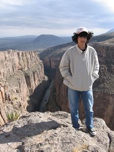 Peguis Canyon, Mexico, Christmas 2006
