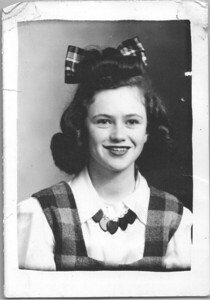 peggy jean spence stinson hughen, 1942, age 16