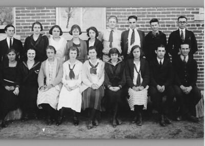 kathleen miller, second from left, sitting