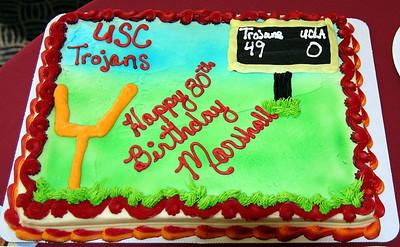 Marshall's 80th Birthday Party