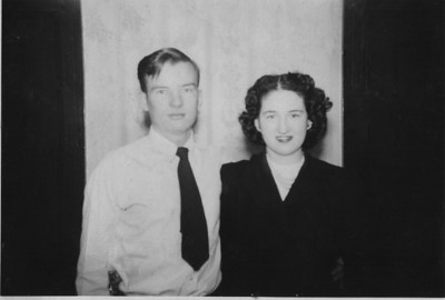 "Ma and Dad  Robert Lee King Sr. and Maxine June King, in about 1947.  I was born in 1948.  In my heart, there could not be better parents.   Thanks for all you taught, loved and gave.  Your loyalty is unbreakable.  I know.  We love you forever. and hope, more than anything we hope for....... to see you again.   Robert Lee King Jr  P.S.   For all of their lives, he called her ""Toots"".  I know, it is an old slang term.  Look it up at Wiki; Google Toots Wiki.  He meant it lovingly because he loved her to the very end here on Earth."