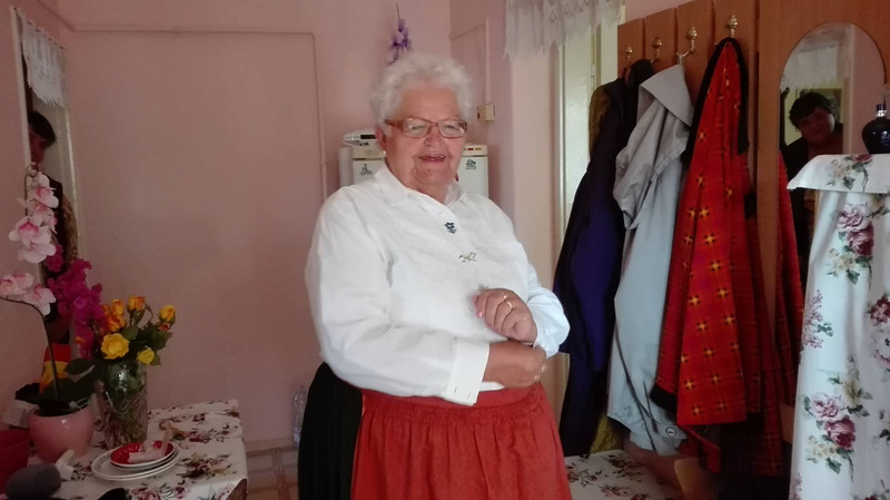 John's sister, Rozsa.  Rozália Lauricsik Jánosné Lieber