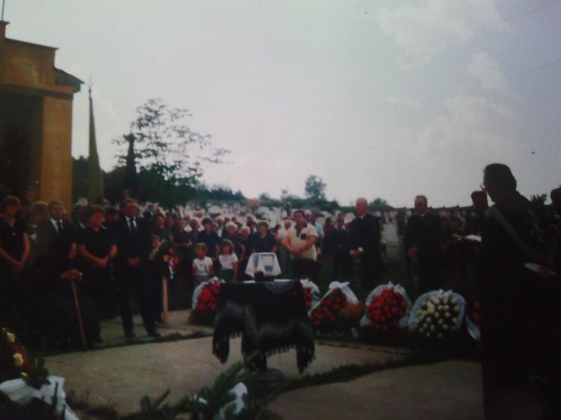 John's funeral 1989.