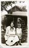 Waukesha, Wisconsin. c1931. My grandmother, Norma Brunner Weinkauf, with her oldest two children, Allen (right, born 1928) and my mom, Dolores Weinkauf Esch (in lap, born 1930).