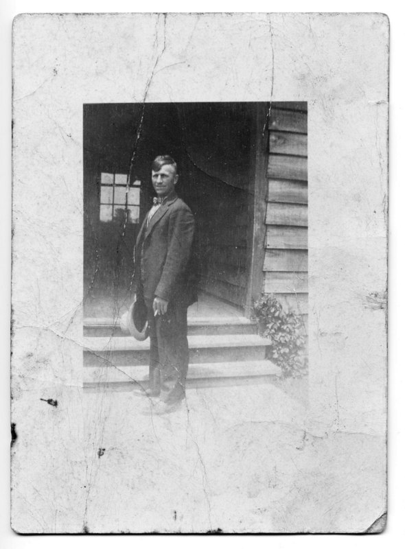 My great grandpa Otto Weinkauf. c1910-20??. This is a rare photograph of Otto Weinkauf.  I know of one other image of him, posing as a teamster in Milwaukee.