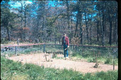 Rick in Cape Cod garden circa 1963.