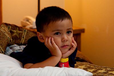 Watching Bender bend stuff on Futurama, Mosqueda family reunion 2010