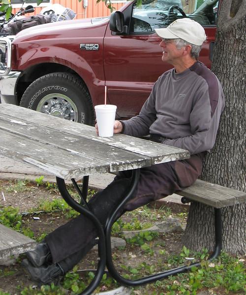 Uncle at King Burger, TAR 2008