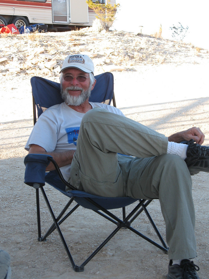 Uncle at home, Big Bend, Christmas 2007