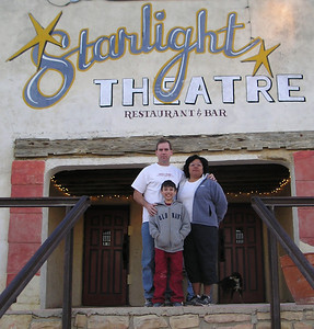 Starlight Theatre, Terlingua Ghost Town, Big Bend