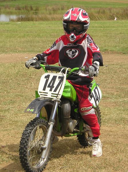 Tuffy on his KX65