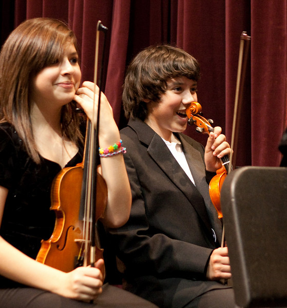 Orchestra concert, May 2009