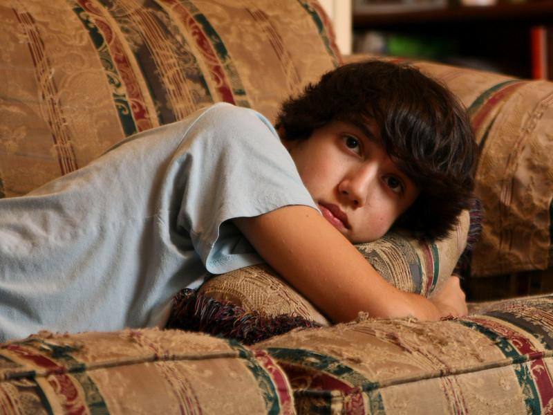 Watching TV, Nov 2010