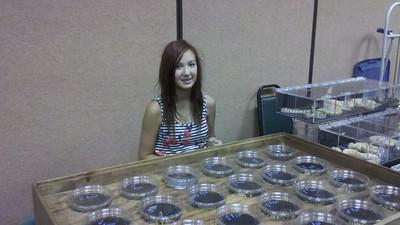 Elizabeth, Oklahoma City Reptile show