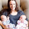 Auntie Michelle and Evan and Alice