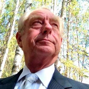 Anchorage, Dad Portrait in Woods, June 2014